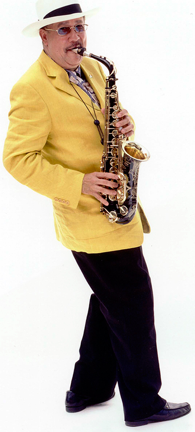 Paquito D'Rivera playing saxophone
