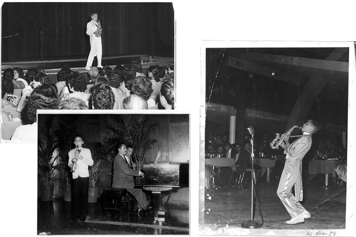 D'Rivera performs in the Dominican Republic and Cuba in his youth.