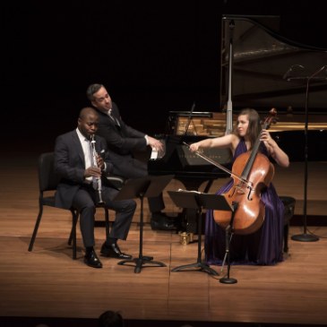 Anthony McGill Inon Barnatan Alisa Weilwerstein Lincoln Center